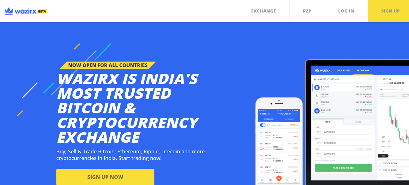 Wazirx- The best cryptocurrency exchange in india ?